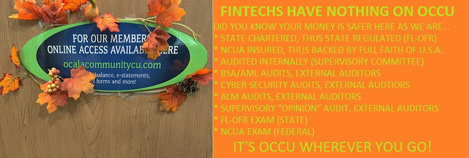 09-30-2021 FINTECH'S HAVE NOTHING ON OCCU