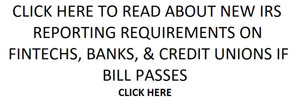 IRS REPORTING REQUIREMENT