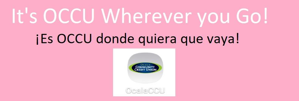 It's OCCU Wherever You Go! w Spanish